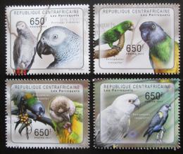 Poštovní známky SAR 2011 Papoušci Mi# Mi# 3023-26 Kat 10€