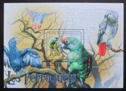 Poštovní známka SAR 2011 Papoušci Mi# Mi# Block 718 Kat 9.50€