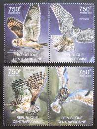 Poštovní známky SAR 2012 Sovy Mi# 3632-35 Kat 14€