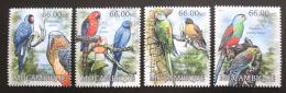 Poštovní známky Mosambik 2012 Papoušci Mi# 5846-49 Kat 15€