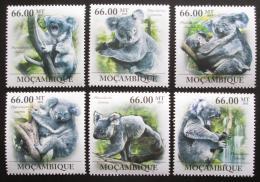 Poštovní známky Mosambik 2011 Koala medvídkovitý Mi# 5358-63 Kat 23€