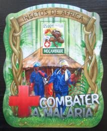 Poštovní známka Mosambik 2015 Boj proti malárii Mi# Block 1008 Kat 10€