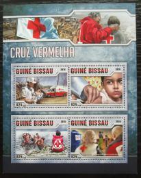 Poštovní známky Guinea-Bissau 2016 Èervený køíž Mi# 8728-31 Kat 12.50€
