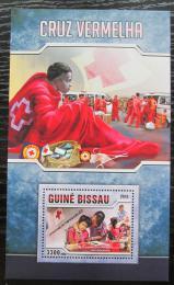 Poštovní známka Guinea-Bissau 2016 Èervený køíž Mi# Block 1510 Kat 12.50€