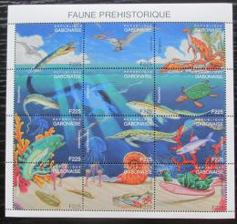 Poštovní známky Gabon 2000 Dinosauøi TOP SET Mi# 1624-35 Kat 14€