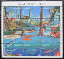 Poštovní známky Gabon 2000 Dinosauøi TOP SET Mi# 1636-47 Kat 16€