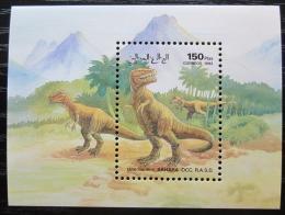 Poštovní známka Sahara 1992 Dinosauøi Mi# N/N