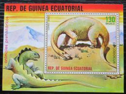 Poštovní známka Rovníková Guinea 1978 Diplodocus Mi# Block 304 Kat 7.50€