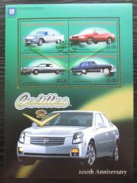Poštovní známky Svatý Vincenc 2003 Automobily Cadillac Mi# 5839-42 Kat 8€
