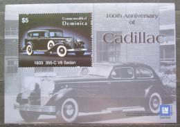 Poštovní známka Dominika 2003 Automobily Cadillac Mi# Block 486