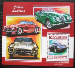 Poštovní známka Mosambik 2015 Legendární automobily Mi# Block 1053 Kat 10€