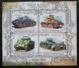 Poštovní známky Mosambik 2013 Tanky Mi# 6319-22 Kat 13€