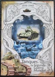 Poštovní známka Mosambik 2013 Tanky Mi# Block 715 Kat 10€