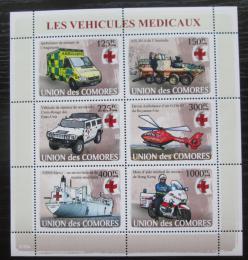 Poštovní známky Komory 2008 Technika Èerveného køíže Mi# 1855-60 Kat 11€
