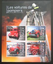 Poštovní známky Niger 2013 Hasièská auta Mi# 2636-39 Kat 12€