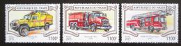 Poštovní známky Niger 2015 Hasièská auta Mi# 3554-56 Kat 13€