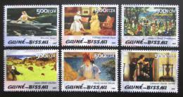 Poštovní známky Guinea-Bissau 2005 Umìní Mi# 3055-60 Kat 13€ - zvìtšit obrázek