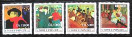 Poštovní známky Svatý Tomáš 2004 Umìní, Toulouse-Lautrec Mi# 2539-42 Kat 12€