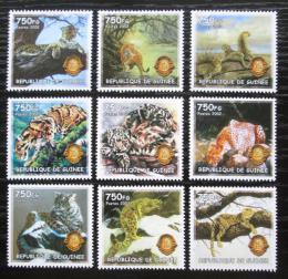 Poštovní známky Guinea 2002 Koèkovité šelmy Mi# N/N Kat 11€