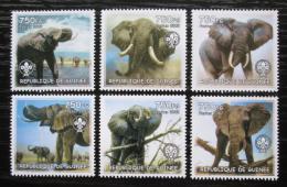 Poštovní známky Guinea 2002 Sloni Mi# N/N Kat 8€
