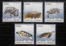 Poštovní známky Komory 2009 Želvy Mi# 2344-44 Kat 10€