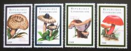 Poštovní známky SAR 2001 Houby Mi# 2762-65 Kat 12€