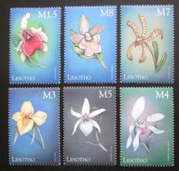 Poštovní známky Lesotho 1999 Orchideje Mi# 1485-90 Kat 14€