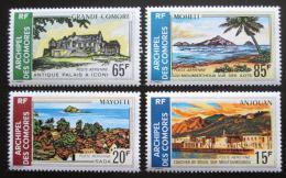 Poštovní známky Komory 1971 Turistické zajímavosti Mi# 119-22 Kat 11€