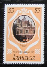 Poštovní známka Jamajka 1981 Královský palác v Londýnì Mi# 507