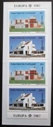 Sešitek Kypr Tur. 1987 Evropa CEPT Mi# MH 1 Kat 10€