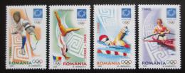 Poštovní známky Rumunsko 2004 LOH Atény Mi# 5853-56
