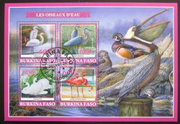 Poštovní známky Burkina Faso 2019 Vodní ptáci Mi# N/N