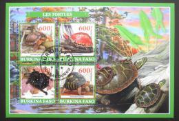 Poštovní známky Burkina Faso 2019 Želvy Mi# N/N