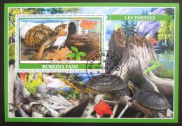 Poštovní známka Burkina Faso 2019 Želvy Mi# N/N