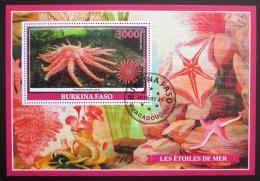 Poštovní známka Burkina Faso 2019 Moøské hvìzdice Mi# N/N