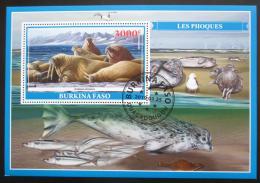 Poštovní známka Burkina Faso 2019 Lachtani Mi# N/N