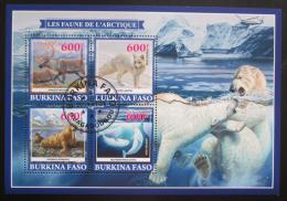 Poštovní známky Burkina Faso 2019 Arktická fauna Mi# N/N
