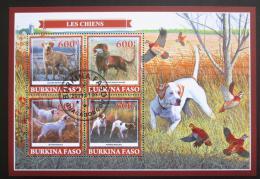 Poštovní známky Burkina Faso 2019 Loveètí psi Mi# N/N