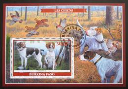 Poštovní známka Burkina Faso 2019 Loveètí psi Mi# N/N