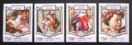 Poštovní známky Niger 2015 Umìní, Michelangelo Mi# 3315-18 Kat 12€