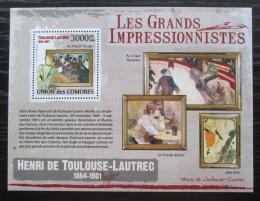 Poštovní známka Komory 2009 Umìní, Henri de Toulouse-Lautrec Mi# 2603 Kat 15€