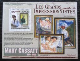 Poštovní známka Komory 2009 Umìní, Mary Cassatt Mi# 2606 Kat 15€