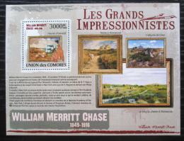 Poštovní známka Komory 2009 Umìní, William Merritt Chase Mi# 2612 Kat 15€