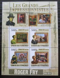 Poštovní známky Komory 2009 Umìní, Roger Fry Mi# 2572-75 Kat 9.50€