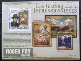 Poštovní známka Komory 2009 Umìní, Roger Fry Mi# 2614 Kat 15€
