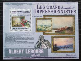 Poštovní známka Komory 2009 Umìní, Albert Lebourg Mi# 2615 Kat 15€