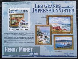 Poštovní známka Komory 2009 Umìní, Henry Moret Mi# 2616 Kat 15€