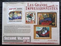 Poštovní známka Komory 2009 Umìní, Suzanne Valadon Mi# 2618 Kat 15€