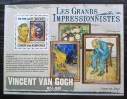 Poštovní známka Komory 2009 Umìní, Vincent van Gogh Mi# 2619 Kat 15€