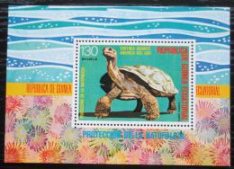 Poštovní známka Rovníková Guinea 1977 Želva Mi# Block 273 Kat 6€